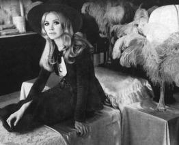 Britt Ekland in the original Biba Store