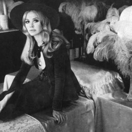 Britt Ekland in the original Biba Store